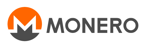 Logo of the crypto currency Monero