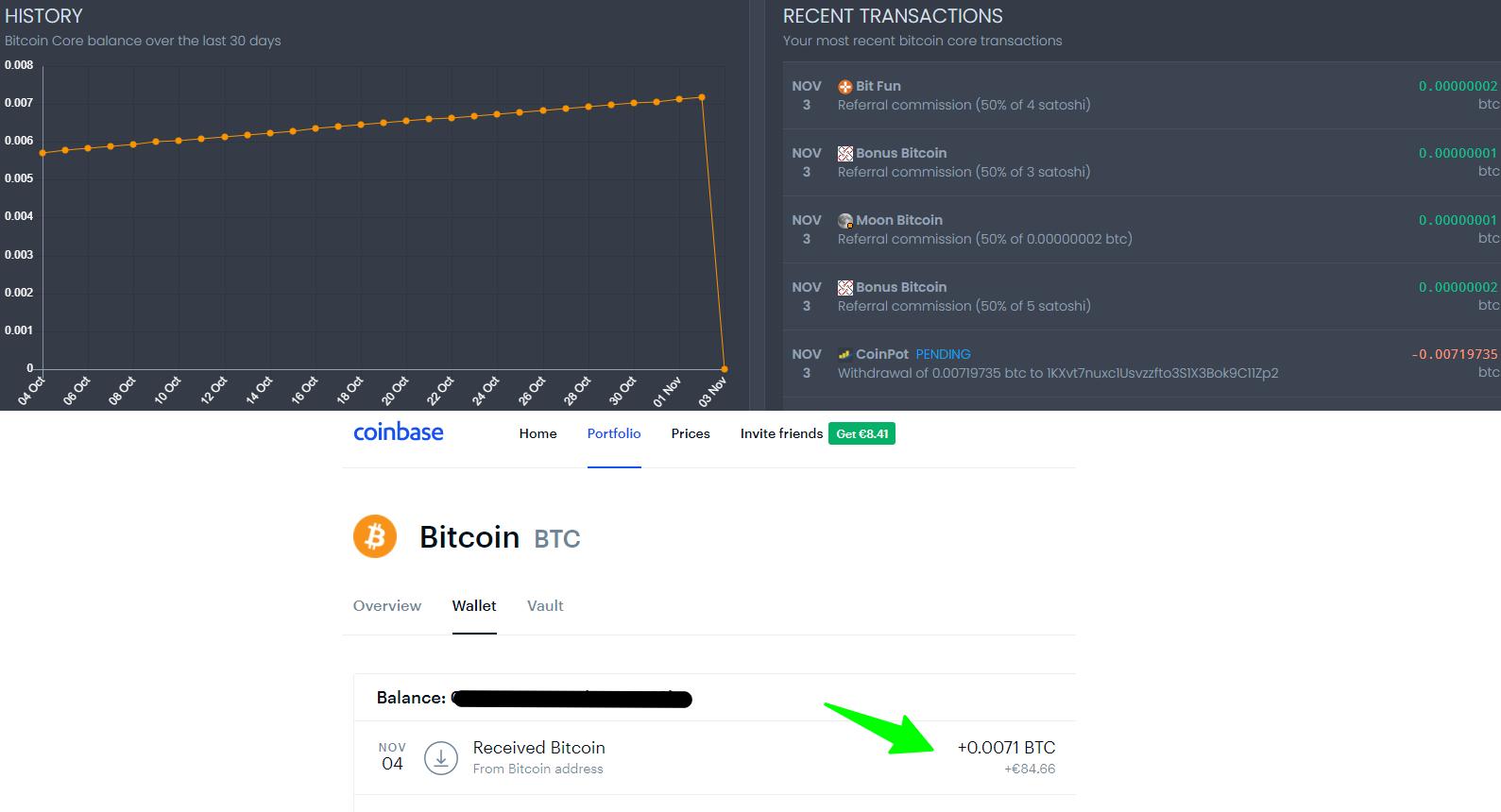 Payout Bonus Bitcoin