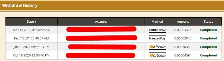 Payment Goldenfaucet