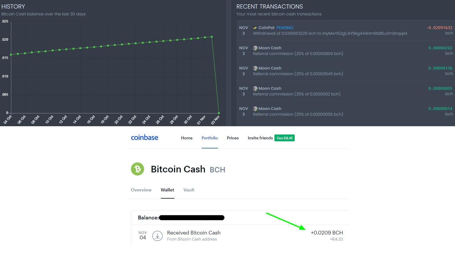 Payment Proof Moon Cash