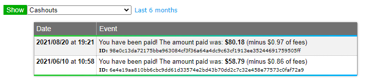 Payment Proof neobux