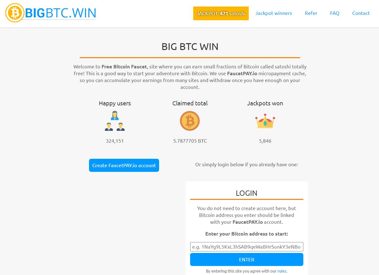 Big BTC Win