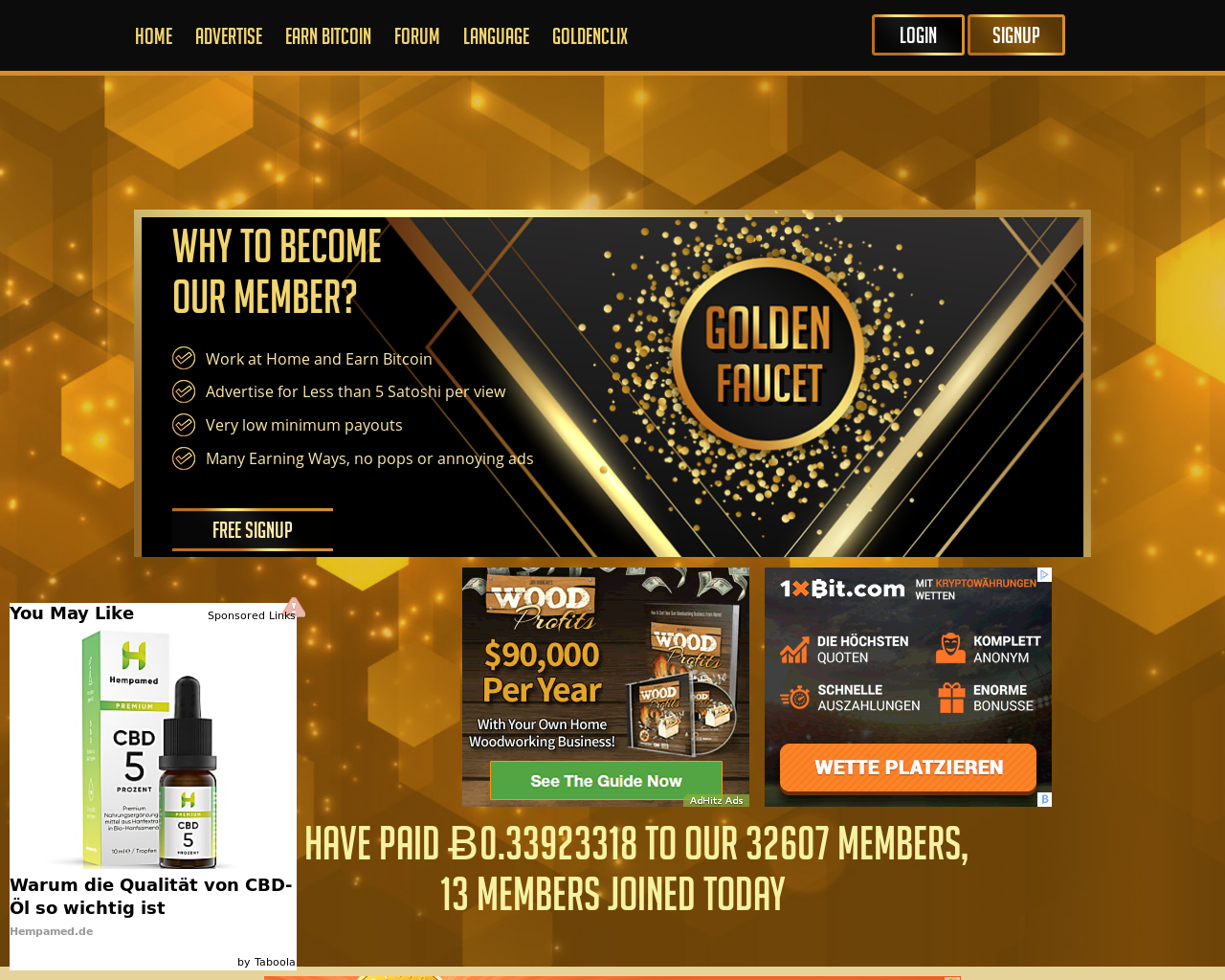 Goldenfaucet