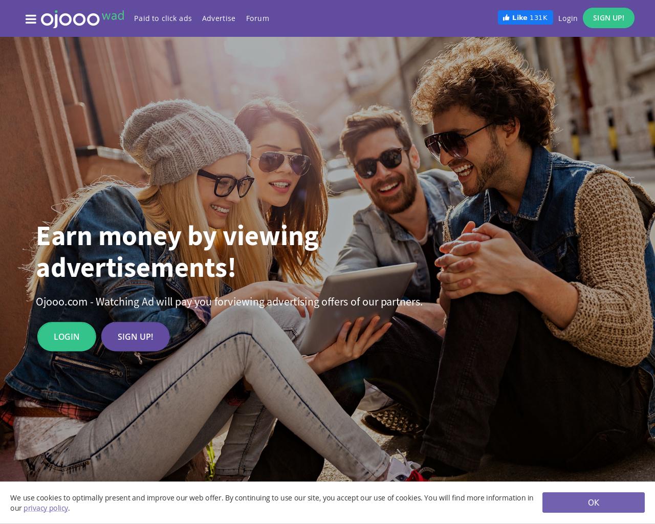 Screenshot Website ojooo
